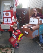 Pixar Cars Homemade Costume