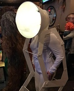 Pixar Lamp Homemade Costume