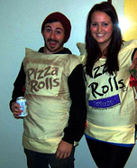 Pizza Rolls Couples Costume