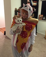 Pizza Cat Homemade Costume