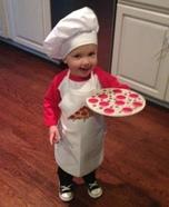 Pizza Chef Homemade Costume