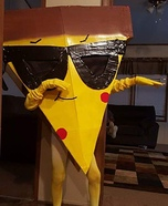 Pizza Steve Homemade Costume