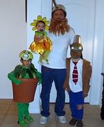 Plants vs. Zombies Homemade Costume