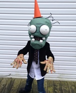 Plants vs Zombies Conehead Zombie Homemade Costume