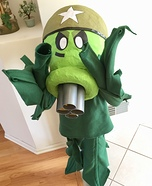 Plants vs. Zombies Gatling Peashooter Homemade Costume