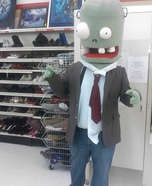 Plants vs Zombies Zombie Homemade Costume