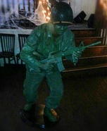 Plastic Army Man Costume