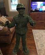 Plastic Soldier Homemade Costume