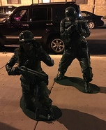 Plastic Toy Soldiers Homemade Costume