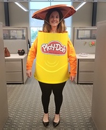 Play-Doh Homemade Costume