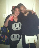Plug and Outlet Couple Homemade Costume