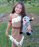 Pocahontas Homemade Costume