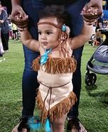 Pocahontas Baby Homemade Costume