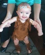 DIY Pocahontas Baby Costume