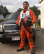 Poe Dameron X-Wing Flight Suit Homemade Costume