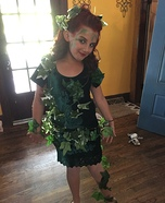 DIY Poison Ivy Girl's Costume