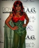 DIY Poison Ivy Costume