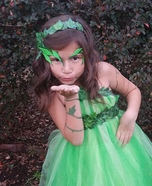 Poison Ivy Girl's Costume