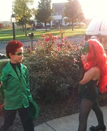 Poison Ivy and the Riddler Homemade Costumes