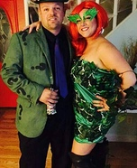 Poison Ivy and the Riddler Homemade Costume