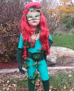 Poison Ivy Girl Homemade Costume