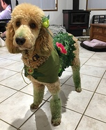 Poison Ivy Poodle Homemade Costume