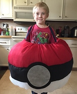 Pokeball Homemade Costume