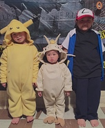 Pokemon Characters Homemade Costume