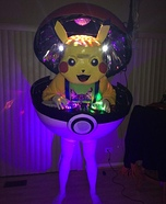 Pokemon DJ Pikachu Homemade Costume