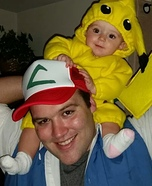 Parent and baby costume ideas - Pokemon Family Costume