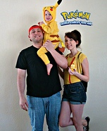 Pokemon Family Homemade Costume