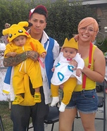Creative DIY Pokemon Family Costume