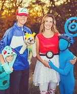 Pokemon Go Family Costume Idea