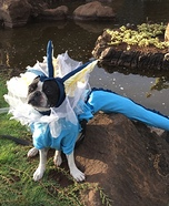 Pokemon Go Vaporeon Homemade Costume