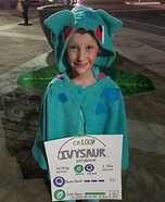 Pokemon Ivysaur Homemade Costume