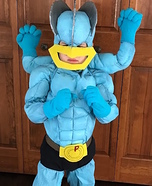 Pokemon Machamp Homemade Costume