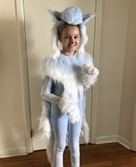 Pokemon Ninetales Alolan Homemade Costume