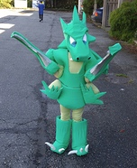 Pokemon Scyther Homemade Costume