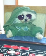 Homemade Poker Player Costume
