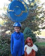 Pokestop Homemade Costume