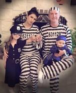 Police & Prisoners Homemade Costume