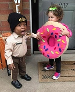 Police Patrol Homemade Costume