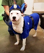Policeman Dog Costume