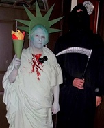 Politics Killed America Couples Costume