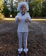 Poodle Homemade Costume