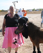 Poodle Horse Homemade Costume