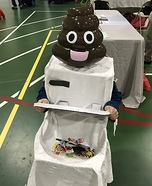Poop Emoji Homemade Costume