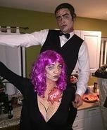 Pop Art Couple Homemade Costume