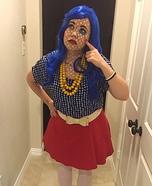 Pop Art Girl Halloween Costume