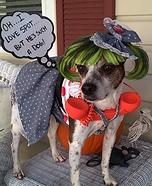 Pop Art Pup Homemade Costume